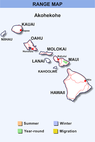 Range Map for Akohekohe HD