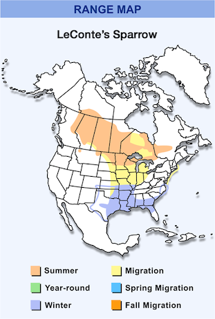 Range Map for LeConte's Sparrow.png