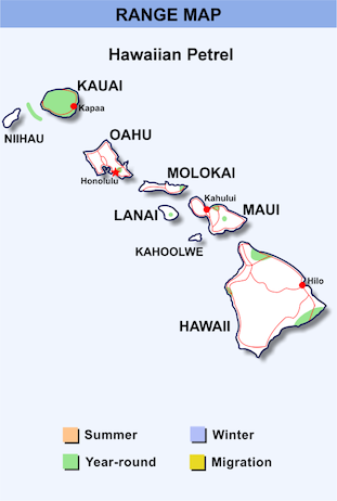 Range Map Hawaii for Hawaiian Petrel.png