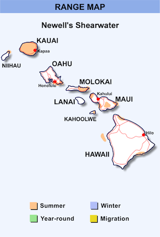 Range Map Hawaii for Newell's Shearwater.png